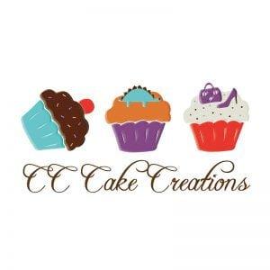 CC Cake Creations logo