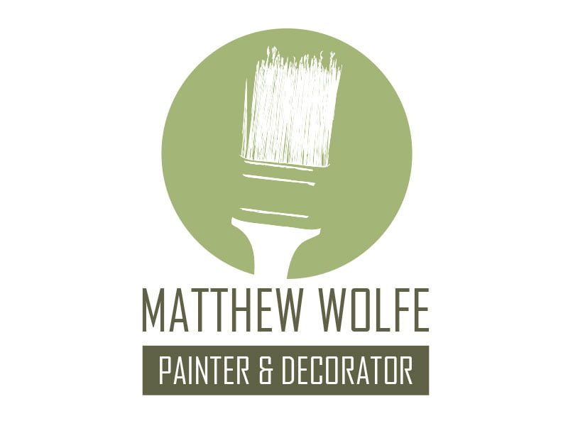 Logo concept for a painter and decorator