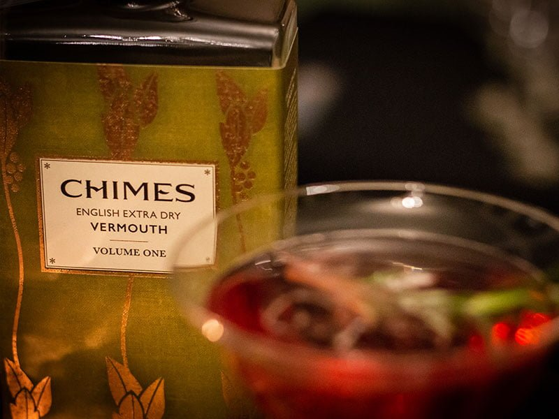 Product shot of Chimes Vermouth