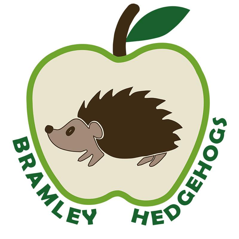 Logo design for West Bridgford hedgehog rescue centre